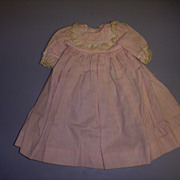 "Vintage Tagged Madame Alexander ""Little Granny"" Dress!"