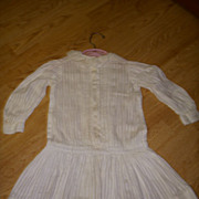 Beautiful Antique Dress for a Large Doll!