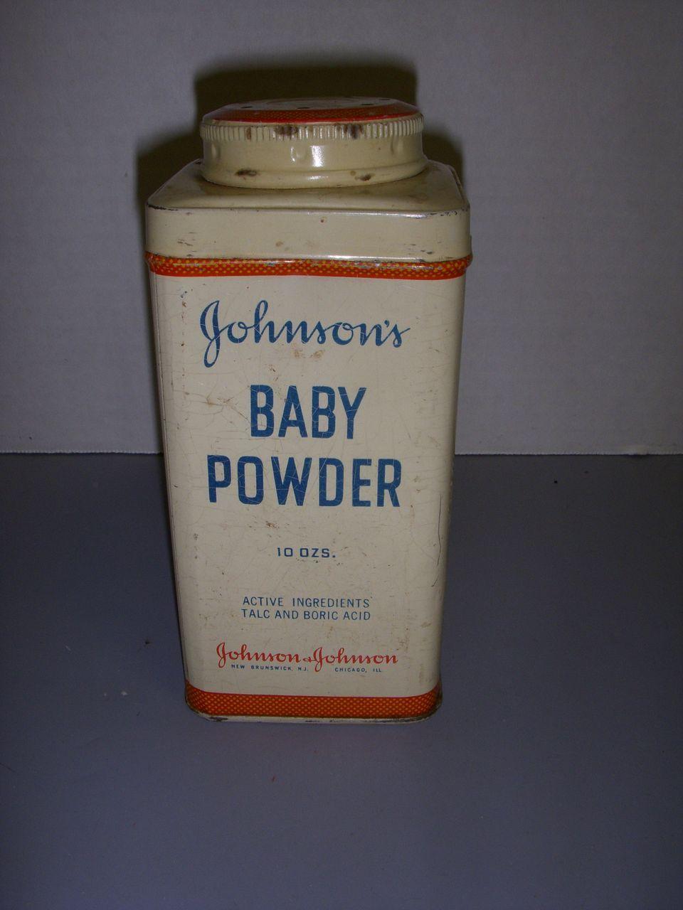 Vintage Johnson S Baby Powder Tin From Kathysdolls On