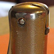 Vintage Ronson Silver-Tone Art Deco Lighter