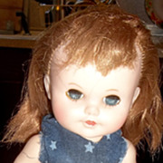 Charming Little &quot;Eegee&quot; Redhead Doll