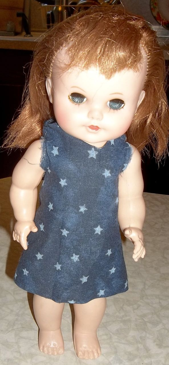 "Charming Little ""Eegee"" Redhead Doll"