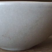 Vintage Mottled Beach Gray Roseville &quot;Raymor Modern Stoneware&quot;  Cup