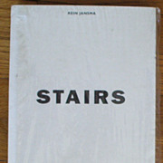 "Collectible ""STAIRS"" Pop Up Book by Rein Jansma"