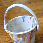 Apex Toy Rubber Pail in Variegated Colors - USA