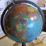"Replogle Lighted 10"" Library Globe"