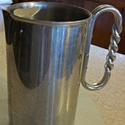 Vintage Large Buenilum Ice Pitcher - Stamped B.W. Buenilum