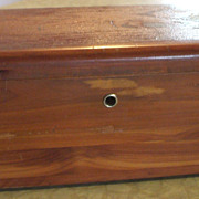 SOLD Vintage Miniature Lane Cedar Chest - Marked