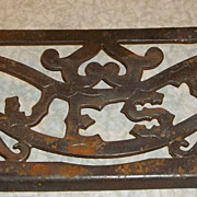 "SOLD Cast Iron ""MAJESTIC"" Stove Sign"