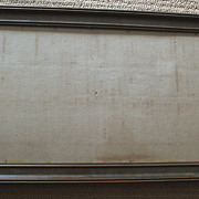 Fabulous Victorian 19th Century Wood/Gilt Gesso Frame
