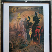 The Hallucinogenic Toreador - Salvador Dali Framed Art Print