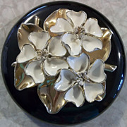 Lovely Vintage Johannes Brahm-Styled Covered Dresser Trinket Box