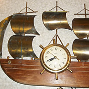 Vintage Ship Clock - United Clock Corporation