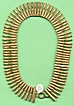 1920s Nefertiti Collar Necklace