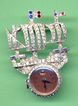 Ship with Lapel Watch- 5462