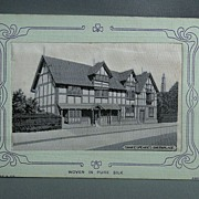 Grant Silk Postcard - Shakespeare's Birthplace