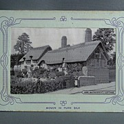 Grant Silk Postcard - Anne Hathaway's Cottage