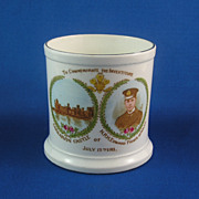 Fabulous Vintage HRH Prince Edward of Wales Investiture Mug