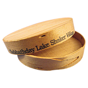 1914 Shaker Wooden Herb Box Sabbathday Lake NOS