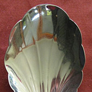 &quot;Lancaster&quot; Sterling Silver Medium Berry Serving Spoon by Gorham