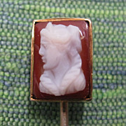Classic Cameo Vintage Stick Pin