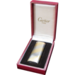 Cartier 18K Gold Vintage Lighter with Diamond Trim, circa 1970s/80s