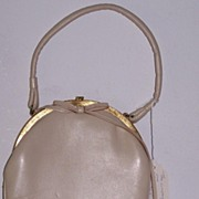 SALE Bagcraft of London leather handbag circa 1949