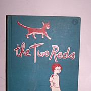 SALE The Two Reds First Edition 1950 Great Illustrations