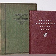 SALE Two (2)  Elbert Hubbard  Roycrofter books 1927  & 1923