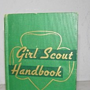 SALE Girl Scout Handbook 1st Impression 1947