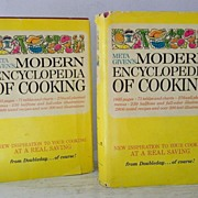 SALE SCARCE! Meta Given's 2 Volume Cookbooks  Hardback W' Dust Jackets