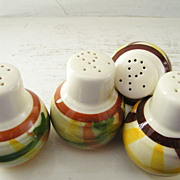 SALE 2 Sets of Vernon Kilns Salt & Pepper Shakers