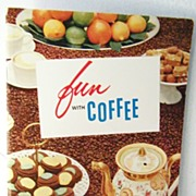 SALE Coffee Cook Book 1st Edition 1956