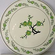 SALE Hand painted porcelain platter Japan / cake plate