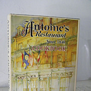 SALE Antoine's Restaurant Cook Book 1979 Beautiful Artwork!