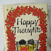 SALE Happy Thoughts  1970 1st Edition