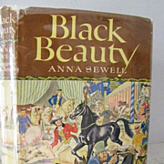 SALE Black Beauty 1948 Beautiful Illustrations!