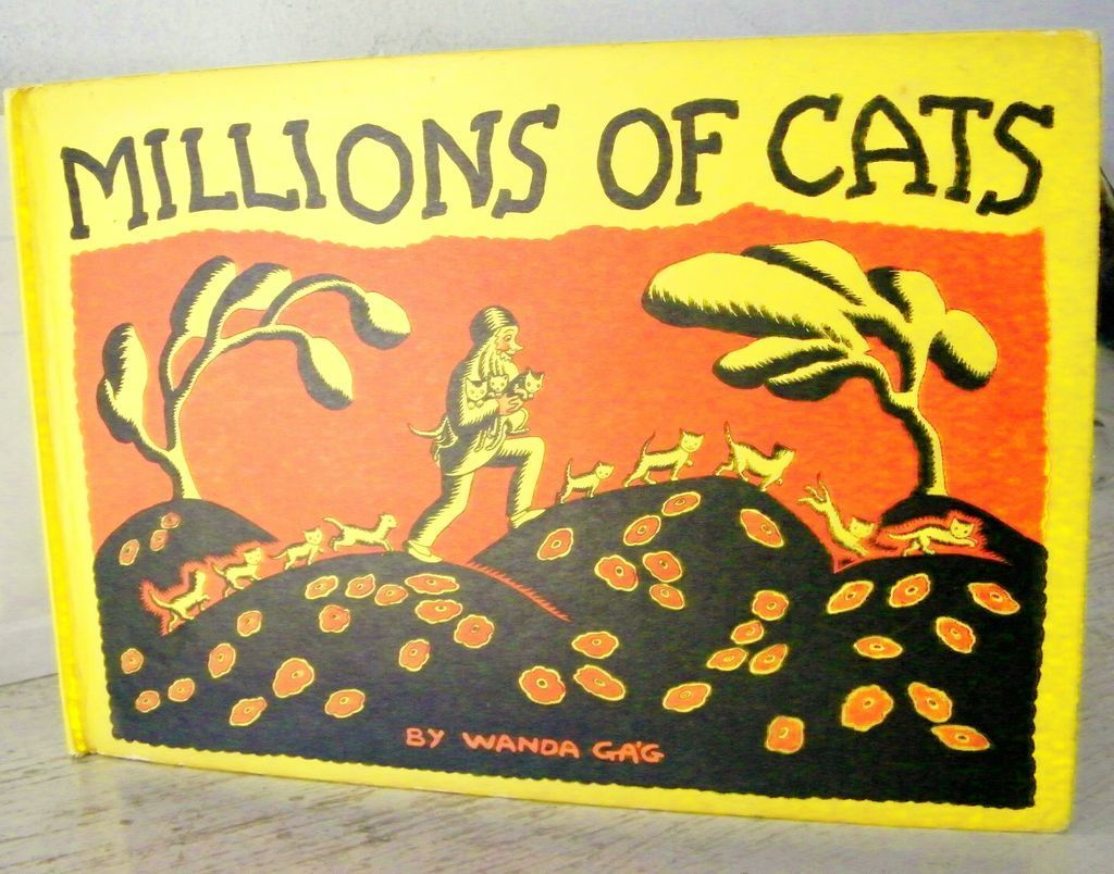 Millions of Cats 1st/1st  1928 w'  Rare Ex Libris  Bookplate