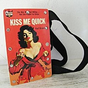 "SALE Pulp Fiction ""Pocket Book"" Purse"