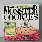 SALE Monster Cookies Cook Book 1st Edition