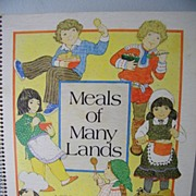 SALE Meals of Many Lands A cookbook for children 1978
