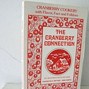 SALE Cranberry Cook Book from Nova Scotia