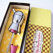 SALE Mr. Bartender Chrome Stopper Pourer  in Original Box