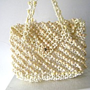 SALE Pacific Island Handbag made entirely of seashells