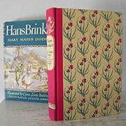SALE Hans Brinker Illustrated 1945 Illustrated Junior Library edition
