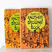 SALE Another Brown Book by Palmer Cox  Fantastic Illustrations
