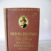 SALE Old Mr. Boston DeLuxe Official Bartender's Guide  1946