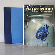 SALE only $42 not $50   American Folk and Decorative Art  * 1st Edition