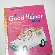 SALE 1992 The Good Humor Man ~ Little Golden Book