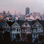SALE 1984 Christopher Egan ~ Painted Ladies Original Photograph